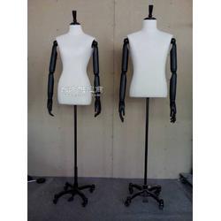 陈列专用包布模特、半身包布休闲时装展示道具图片