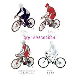 运动模特道具,骑行姿势模特