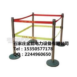 不锈钢警示带安全伸缩护栏的图片
