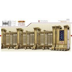 上海伸缩门、电动伸缩门尺寸、英鹏九州门业有限公司图片