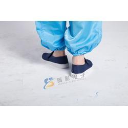 深圳蓝色帆布防静电鞋-舜彩电子-蓝色帆布防静电鞋直销图片