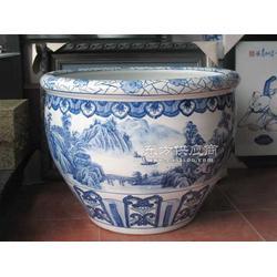 供应手绘陶瓷缸图片