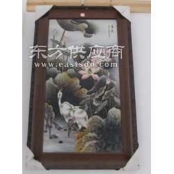 供应粉彩手绘山水陶瓷工艺品图片