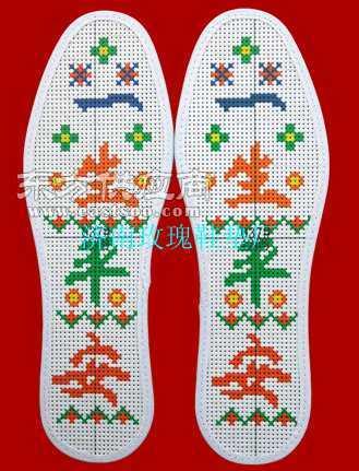 十字绣鞋垫图片 - 东方供应商
