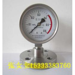 布莱迪专业生产不锈钢耐震隔膜压力表 电接点压力仪表图片