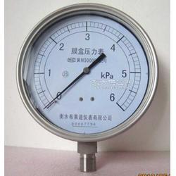热销正品布莱迪仪表不锈钢膜盒压力表YE150F图片