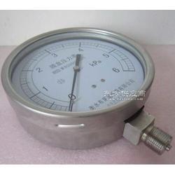 厂家专业生产防腐耐酸全不锈钢膜盒压力表YE150F图片