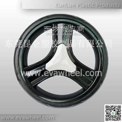 专业生产环保EVA发泡轮婴儿手推车轮-昆仑塑胶图片