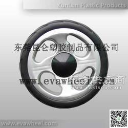 轻便避震EVA发泡轮婴儿手推车轮-昆仑塑胶图片
