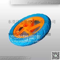 环保轻便EVA发泡轮儿童自行车轮-昆仑塑胶图片