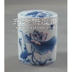 陶瓷茶叶罐定制,高档陶瓷茶叶罐,瓷器茶叶罐图片