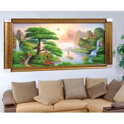 油画装饰-客厅油画装饰-尚佰艺图片