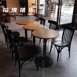 冰淇淋桌子定做/实木桌子/方桌/圆桌定做图片