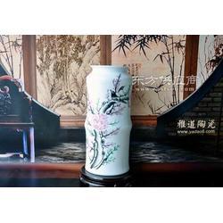陶瓷花瓶厂家 小花瓶摆件 粉彩花瓶图片