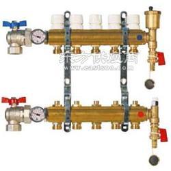 意大利優質地暖銅質分水器圖片