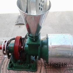 卧式小型粮食磨面机 三相电五谷杂粮制粉机图片