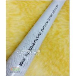 医疗级聚酯线编织硅胶软管 生物科技制药专用硅胶管图片