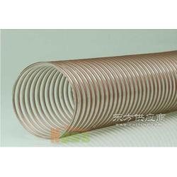 200mm钢丝伸缩管 透明钢丝食品级软管图片