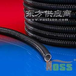 耐腐蚀性黑色阻燃波纹管 尼龙材质塑料波纹管图片