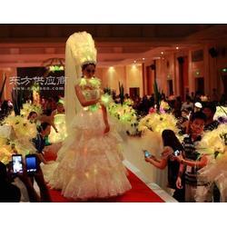 大圣塑料光纤婚纱图片