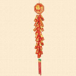 春节装饰绒炮、大同工艺品、茶山装饰绒炮图片
