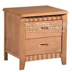 江盈最具韩国风格的双抽推拉式床头柜图片