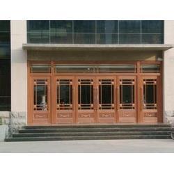 铜川肯德基门-生产厂家嘉亿建材-肯德基门型材图片