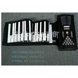 厂家供应博锐手卷钢琴折叠式电钢琴图片