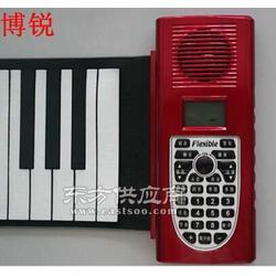 供应手卷钢琴 环保硅胶琴 博锐手卷钢琴厂家定制图片