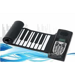 厂家定制时尚礼品手卷钢琴 博锐手卷电子琴厂价图片