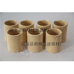 现货供应铜粉烧结管状滤芯图片