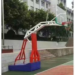 花东篮球架厂-球场地面篮球架厂家-好质量(优质商家)图片
