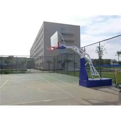 专业厂家(图)_生产独臂式篮球架_新塘独臂篮球架图片