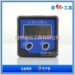 微型电子摆锤水平尺 塑料铝合金数显角度测量仪图片