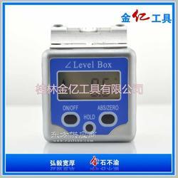 迷你铝合金高精度水泡角度盒 数显水平倾角盒图片