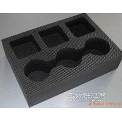 黑色EVA贴绒内衬 笔盒海绵EVA包装内衬 海绵包装图片