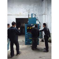 耐用型立式压缩打包机_九龙打包机专业品质_立式压缩打包机图片