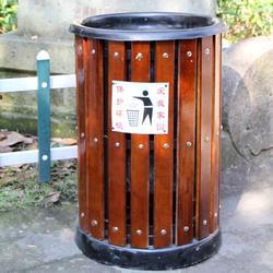 三门峡室外垃圾桶,室外垃圾桶厂家,众强健身器材厂图片
