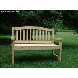 公园木质长椅、   贵阳 长椅、众强健身器材厂图片