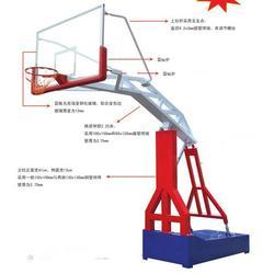 篮球架、篮球架专卖店、移动、地埋篮球架图片