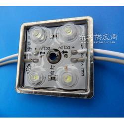 LED模组 四灯铁壳防水透镜 LED广告模组 3528贴片图片
