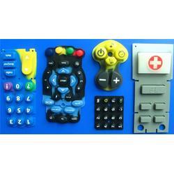 硅胶按键_丝印硅胶按键_种色硅胶按键图片