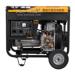 低噪音5KW柴油发电机厂家图片