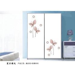 卧室玻璃衣柜门、衣柜门、晶艺门业图片