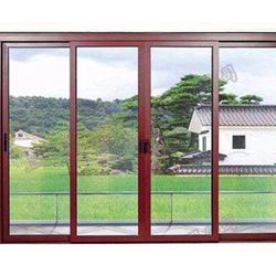 济南朝阳支持定做-市中区封阳台断桥铝门窗图片