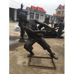 公园古代人物雕塑、江苏古代人物雕塑、鼎丰铜雕图片