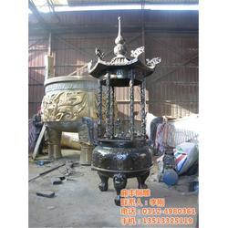 宣铜香炉、四川铜香炉、鼎丰铜雕图片