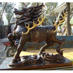 供应铜雕麒麟,鼎丰铜雕,铜雕麒麟图片