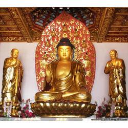寺庙佛像摆放,福建寺庙佛像,鼎丰铜雕图片
