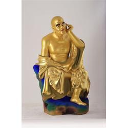 十八罗汉图、十八罗汉、鼎丰铜雕图片